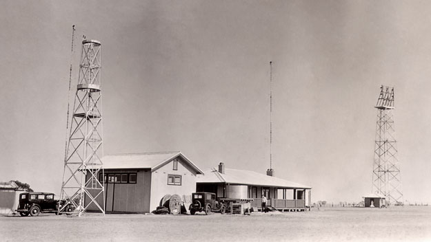 Nhill Aeradio Building in 1939