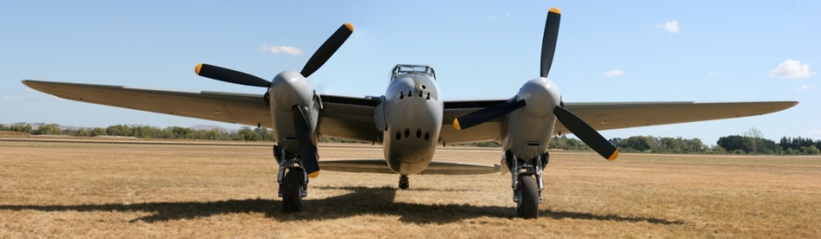 de Havilland Mosquito FB Mk.21 Jerry Yeagen NZ 2013
