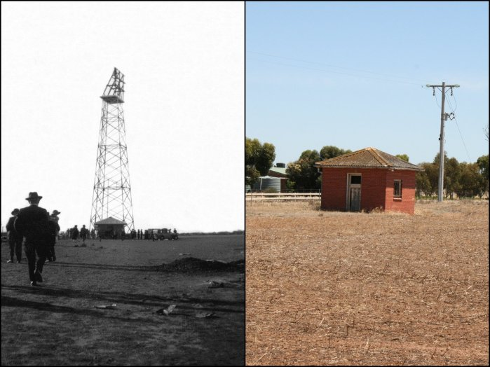 Lorenz Radio Range Beacon Tower 1938 Nhill