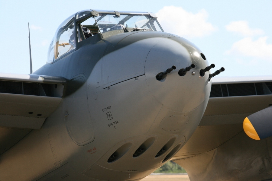 De Havilland Mosquito Cannons