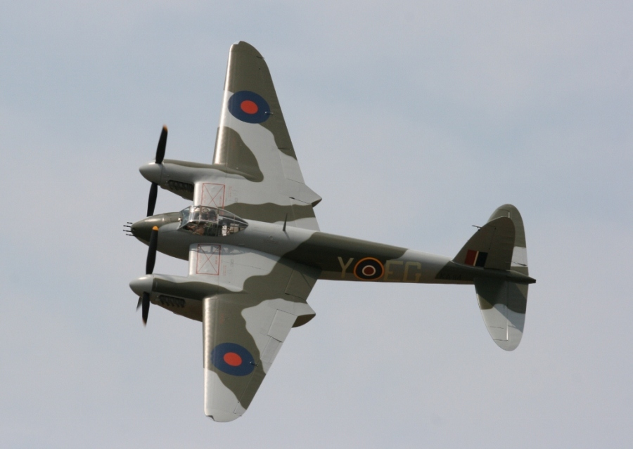 de havilland dh98 mosquito FB Mk.21 New zealand