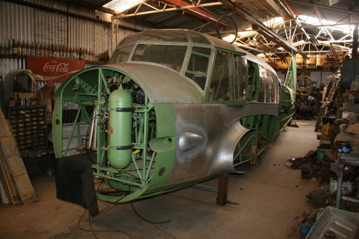 Nhill Aviation Heritage Centre Avro Anson Restoration