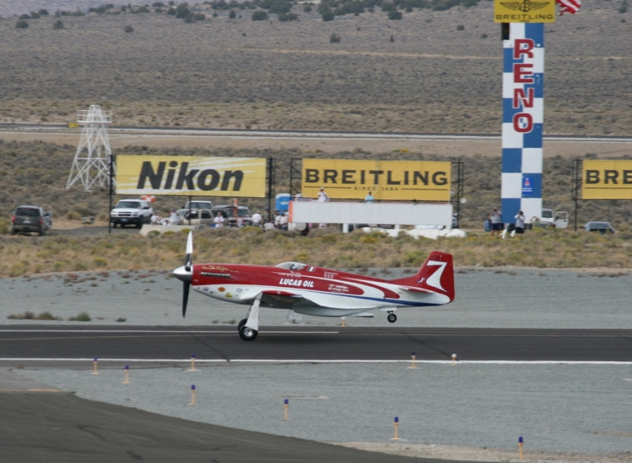 Strega P-51 Reno Air Races 2012