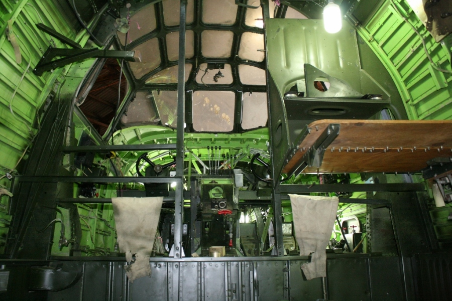 B-24 Cockpit restoration 2013 Werribee
