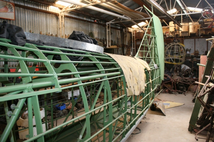 Avro Anson restoration Nhill Aviation Heritage Centre Victoria Australia