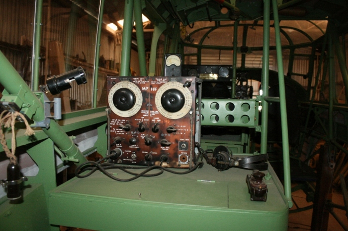 Avro Anson radio operator position nhill aviation heritage centre