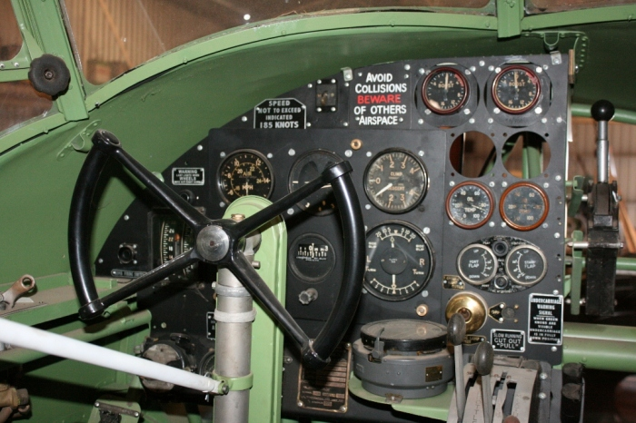 avro anson cockpit nhill aviation heritage centre