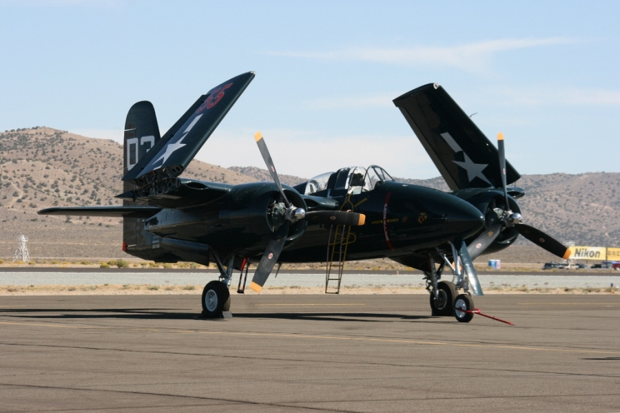 Grumman F7F Tigercat Reno Air Races 2012