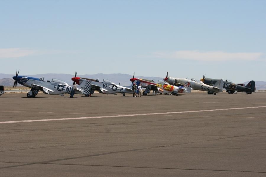 Unlimited Class Reno Air Races 2012 Mutang Sea Fury