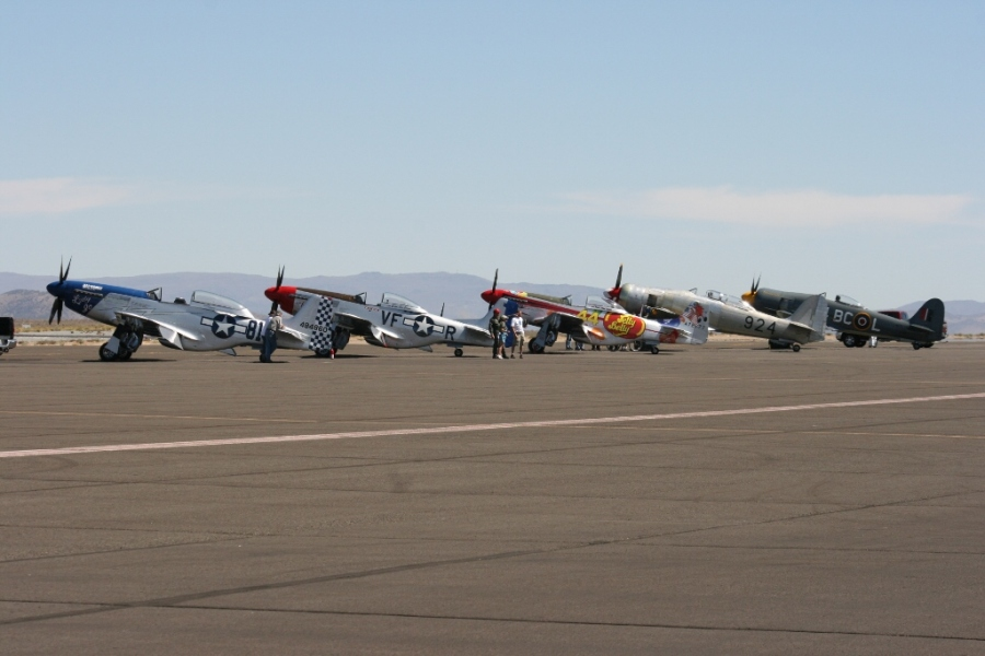 Unlimited Class Reno Air Races 2012 Mutang Sea Fury