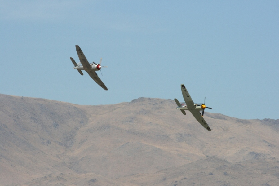 Sea Fury Unlimited Class Reno Air Races 2012