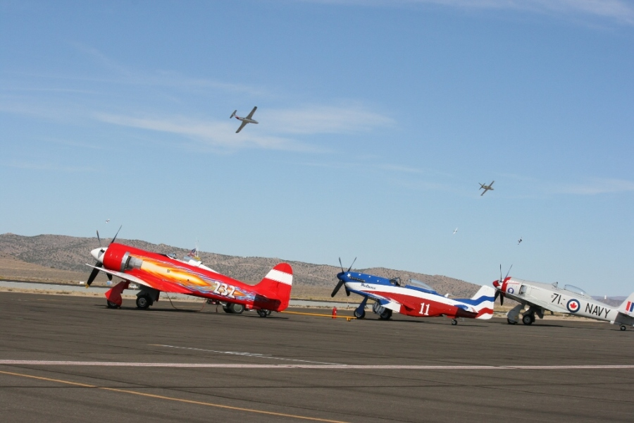 Unlimited Class Reno Air Races 2012