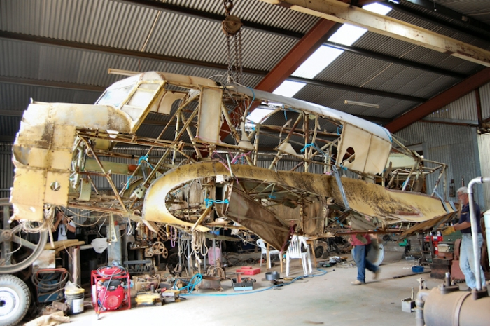 Nhill Aviation Heritage Centre Avro Anson Mk.1 restoration