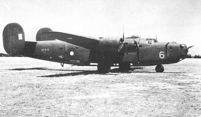 RAAF B-24 Liberator A72-6