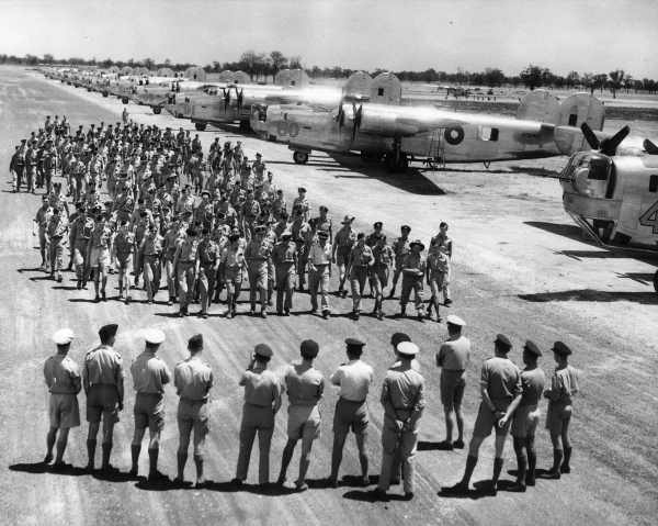 RAAF B-24's of No. 7 OTU