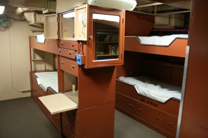 Junior Officer Quarters USS Midway CV-41 San Diego