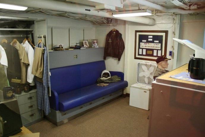 Flight Commanding Officer Quarters USS Midway CV-41 San Diego