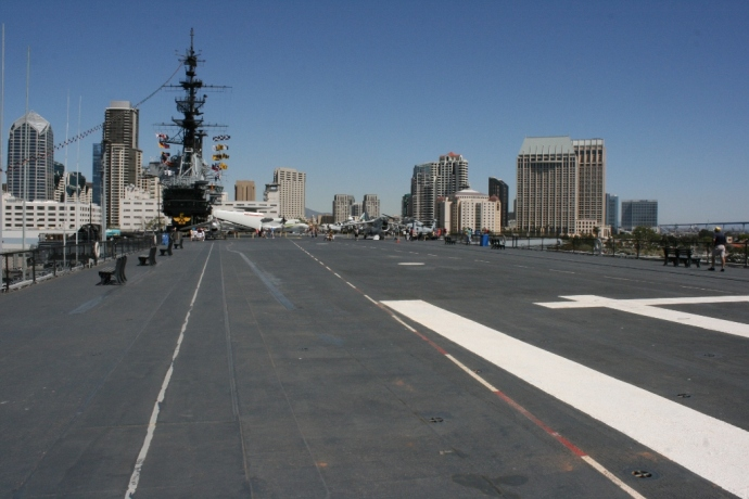 USS Midway flight deck