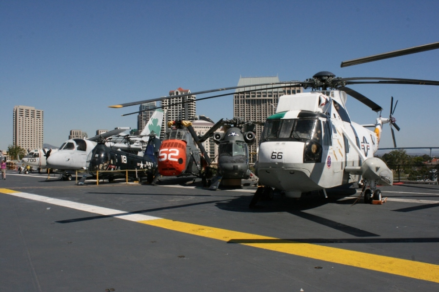 Navy Helicopters USS midway
