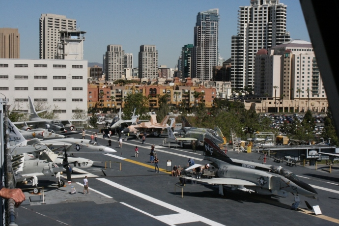 Flight Deck USS Midway