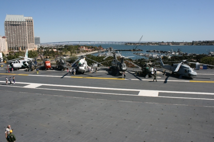 Flight Deck USS Midway CV-41