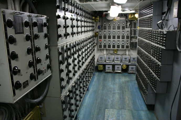 Communications Room USS Midway CV-41
