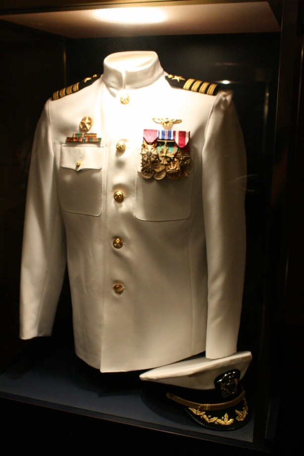 Captains Dress Uniform USS Midway