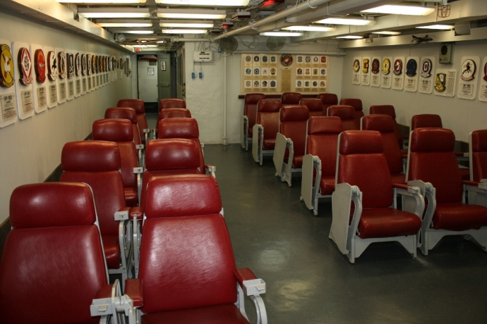 F-4 Phantom II Ready Room USS Midway CV-41