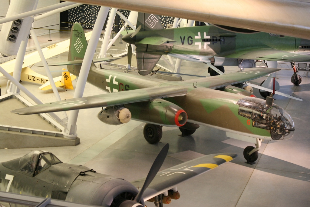 The Survivors: Arado Ar 234 Blitz – Germany's Jet Bomber