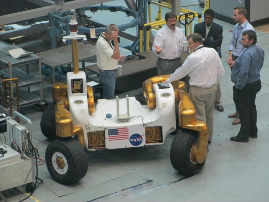 lunar vehicle design NASA Johnson Space Centre
