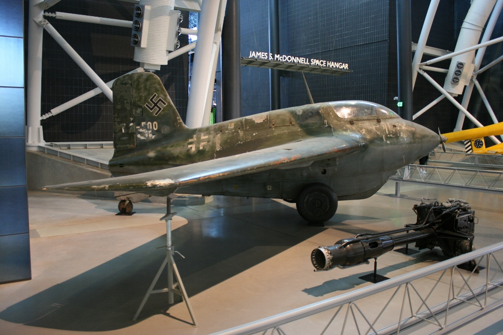 Messerschmitt Me-163 Komet (rocket powered interceptor)