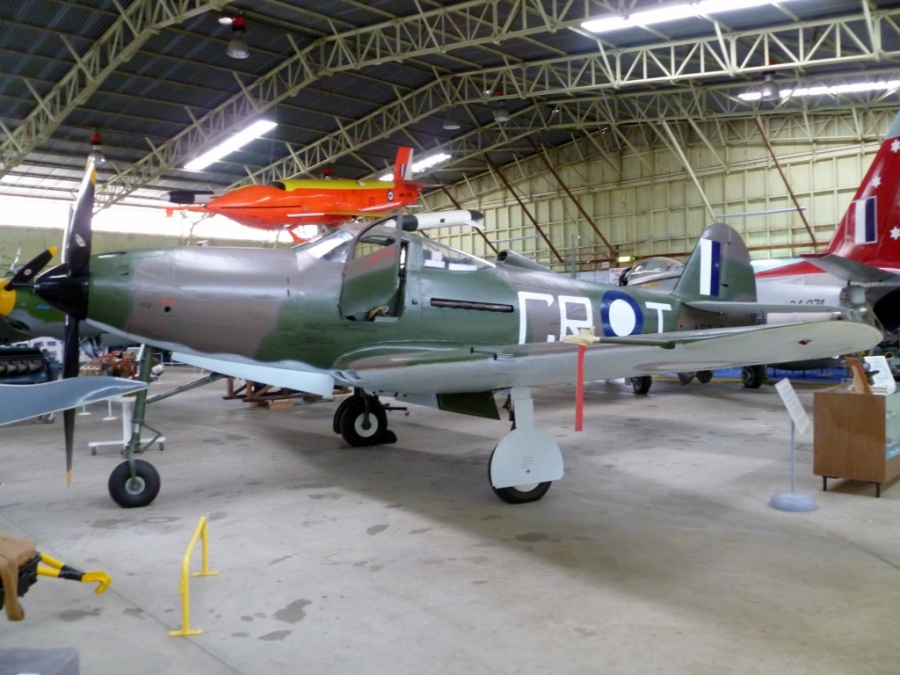 The P-39 fully restored and on display at Classic Jet Fighters Museum in South Australia in 2011