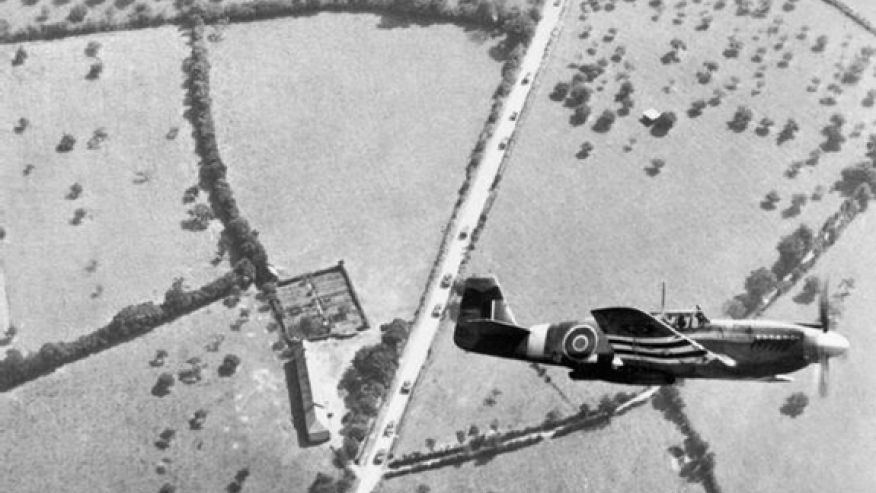 RAF North American P-51B Mustang from No.2 Army Cooperation Squadron D-Day June 1944