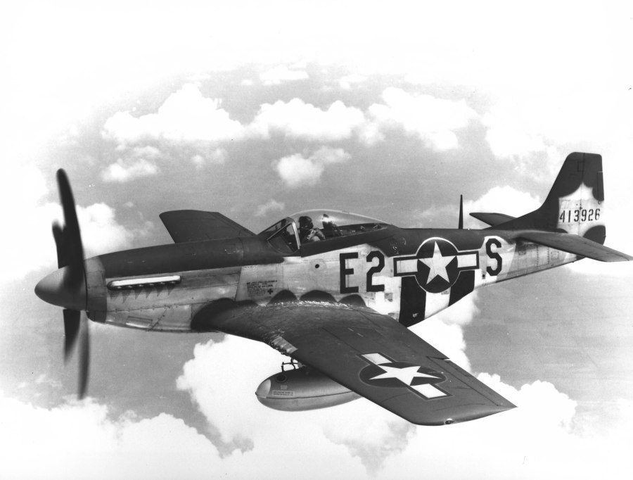 USAAF 375th Fighter Squadron North American P-51D Mustang