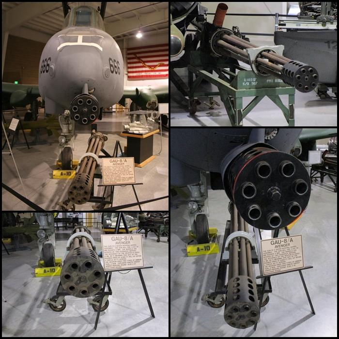 GAU-8 Avenger 30mm rotary cannon A-10