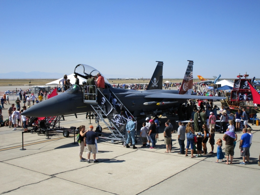 """RSAF 428th Fighter Squadron the """"Buccaneers"""" F-15SG Mountain Home AFB"""