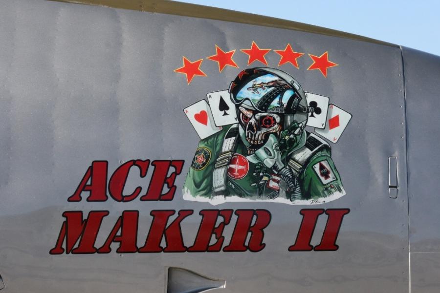 Ace Maker II Lockheed T-33 Shooting Star (T-Bird) Aviation Nation 2014 Nellis AFB