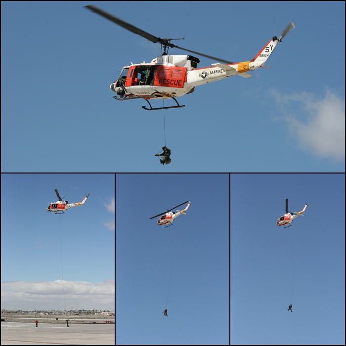 USMC HH-1N Yuma Airshow 2015 SAR demo