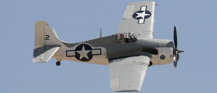 US Navy Planes of Fame 2015 Grumman F4F Widcat