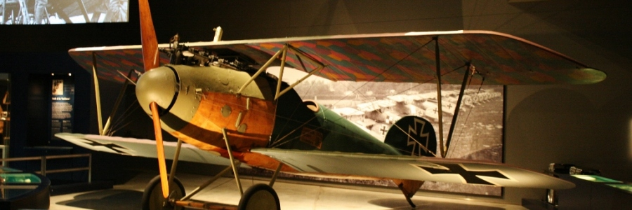 Imperial German Air Service Albatros D.Va (1917) at the Australian War Memorial