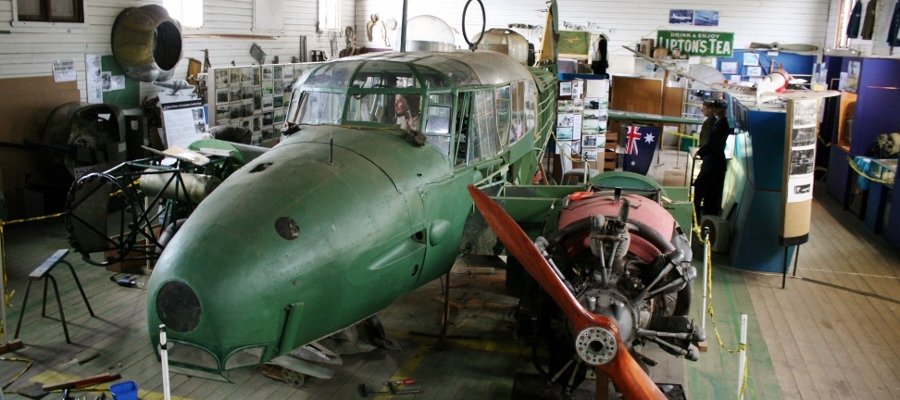 Avro Anson Mk.I restoration in Ballarat Victoria