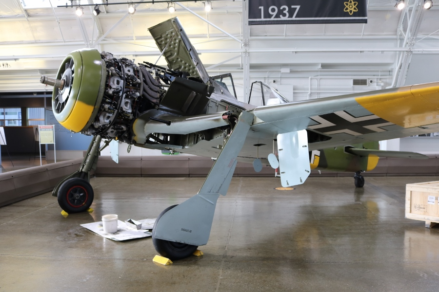 Fw-190A-5/U3 ground attack fighter