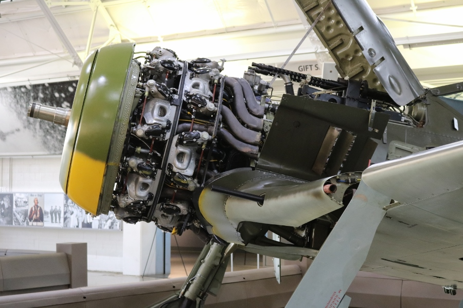 BMW 801 D-2 radial engine FW-190A-5