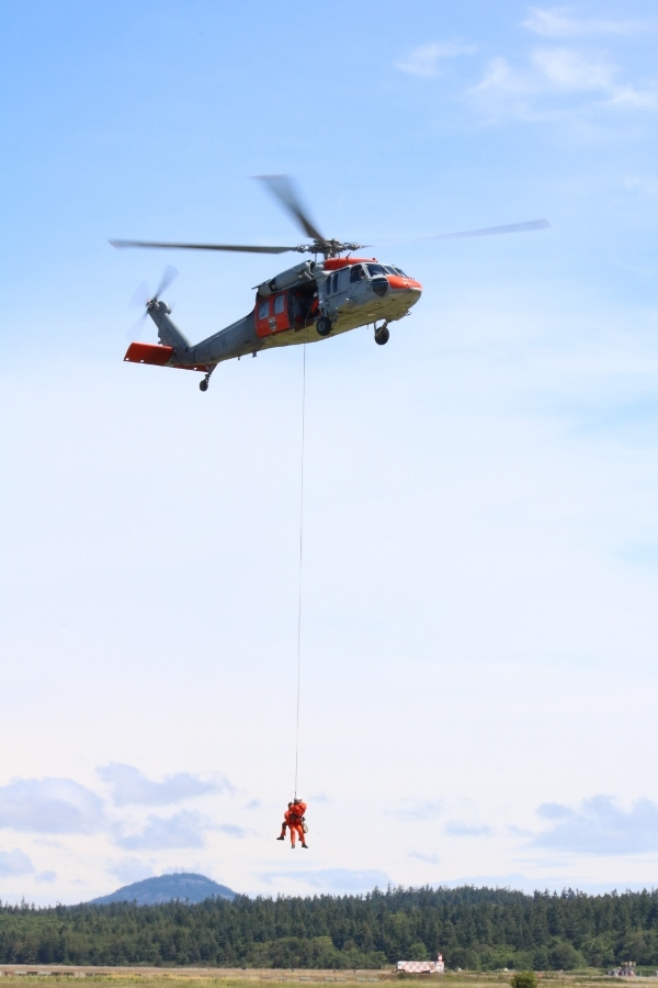 Sikorsky MH-60S Knighthawk search and rescue demonstration NAS Whidbey Island Open House 2016