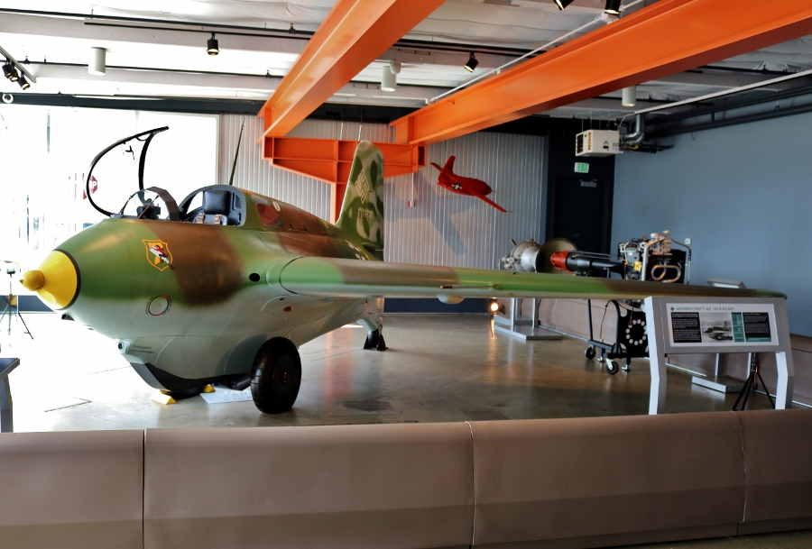 Messerschmitt Me 163B Komet at the Flying Heritage Collection Paine Field Washington USA