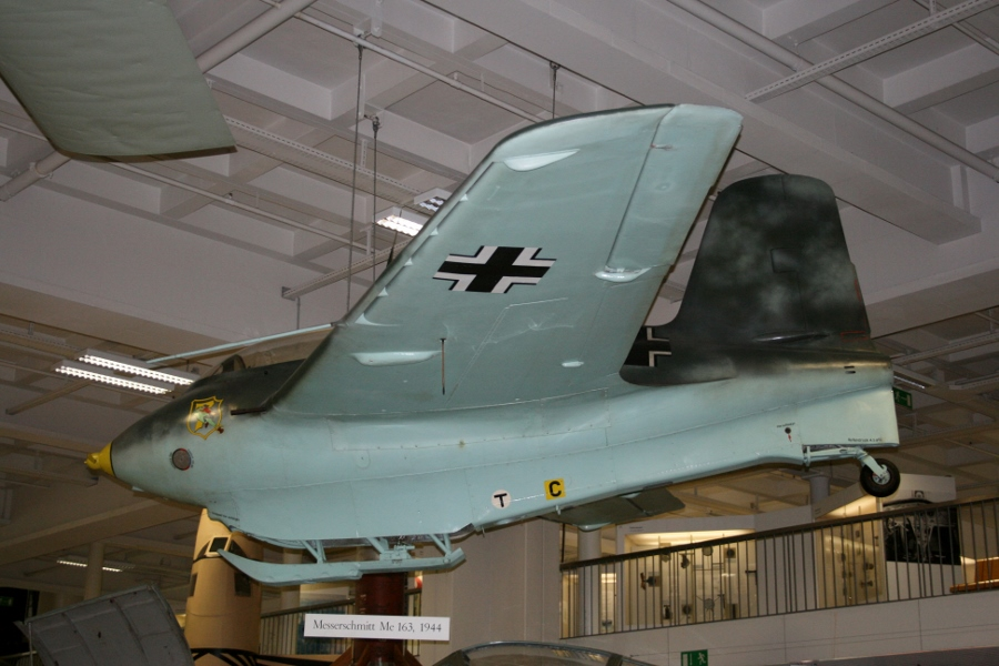 Messerschmitt Me-163B Komet at the Deutsches Museum in Munich (July 2010)
