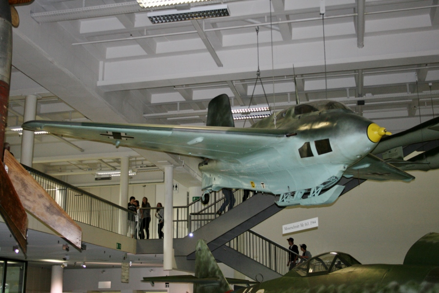 Messerschmitt Me-163B Komet (Werknummer 120370) at the Deutsches Museum in Munich (July 2010)