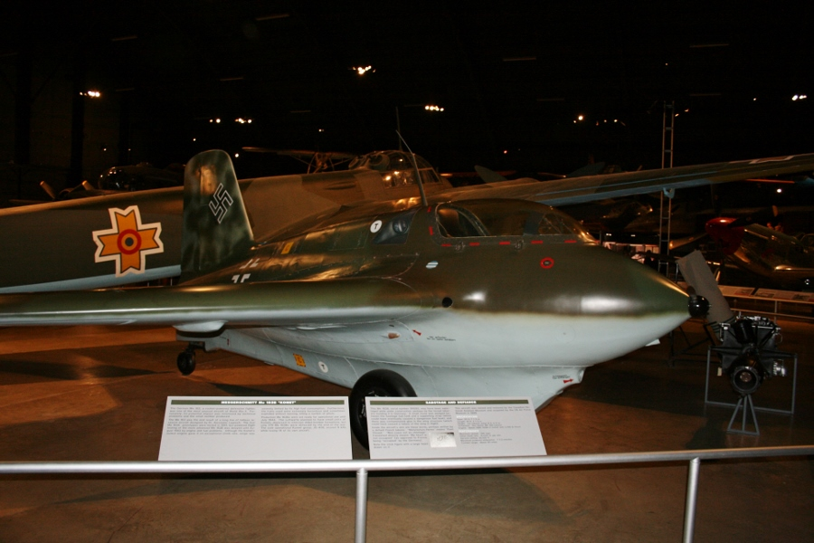 Me-163B Komet (S/N 191095) at the National Museum of the US Air Force in Dayton, Ohio in 2009