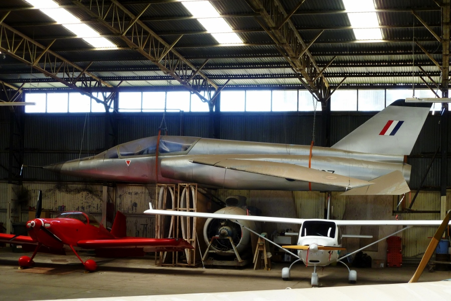 BAC/CAC AA-107 mock up at the Ballarat Aviation Museum in 2011