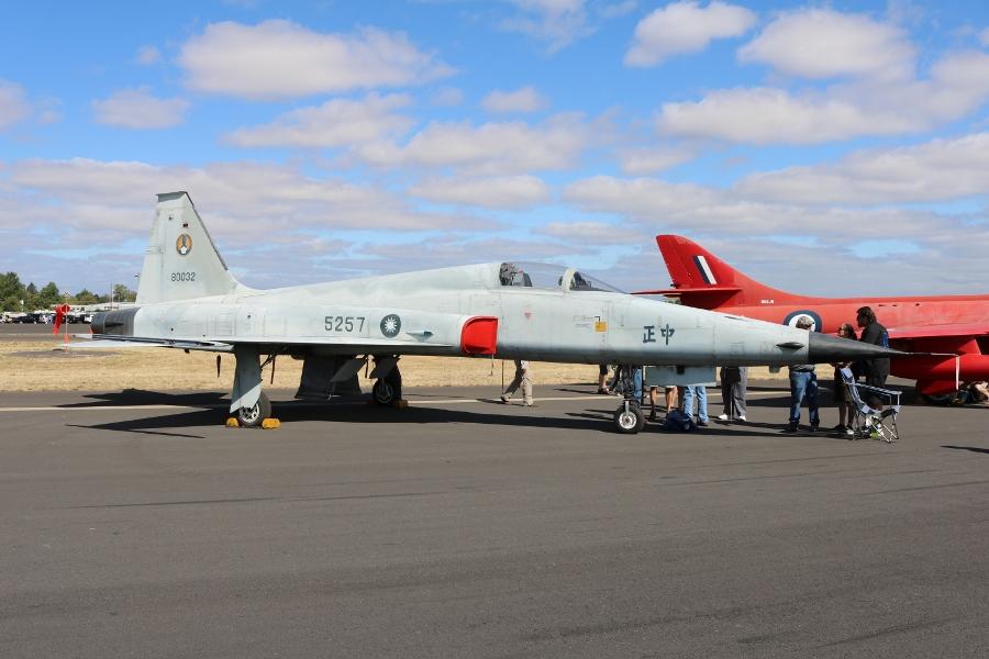 Former Taiwanese Air Force Northrop F-5E Tiger II Oregon International Air Show 2016